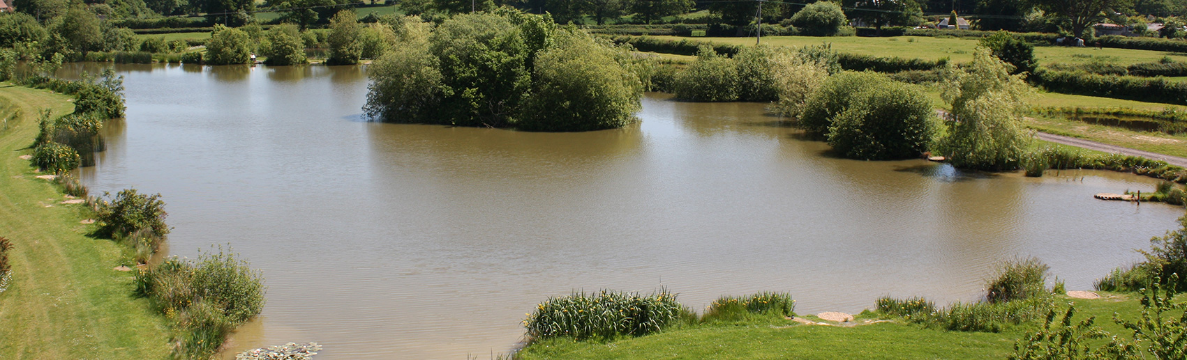 centre fishing lake - newdigate farms estate